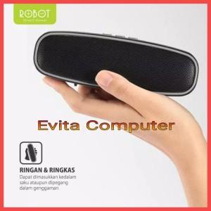 Harga speaker bluetooth robot rb210 portable wireless super bass | HARGALOKA.COM