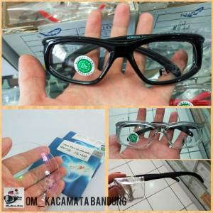 Harga kacamata safety normal dan minus lensa antiradiasi   HARGALOKA.COM