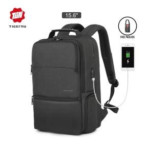 Harga tigernu t b3905 backpack bag usb   tas ransel laptop 15 6 34   dark | HARGALOKA.COM