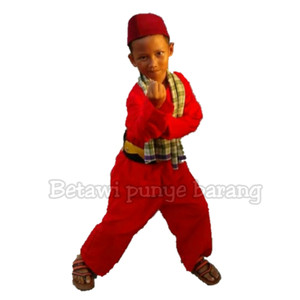 Harga baju pangsi betawi untuk anak anak   no | HARGALOKA.COM