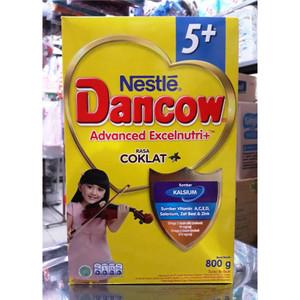 Harga susu bubuk nestle dancow 5 coklat 5 12 tahun 800 gr | HARGALOKA.COM