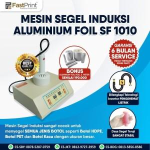 Harga mesin segel induksi alumunium foil sf1010 bonus alumunium | HARGALOKA.COM