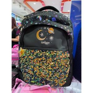 Harga smiggle lunar backpack black   tas ransel | HARGALOKA.COM