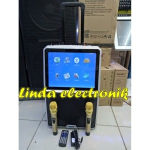 Harga new layar speaker portable led 15inch toatech audio profesional | HARGALOKA.COM