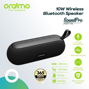 Harga oraimo soundpro portable tws wireless bluetooth speaker | HARGALOKA.COM