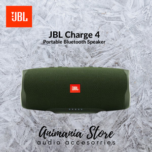 Harga jbl charge 4 green waterproof bluetooth | HARGALOKA.COM