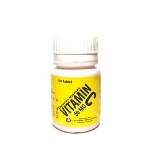 Harga vitamin c tablet isi 100 tablet rasa manis seperti vitamin c | HARGALOKA.COM