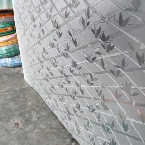 Harga fiber plastik penutup pagar motif daun bambu   HARGALOKA.COM
