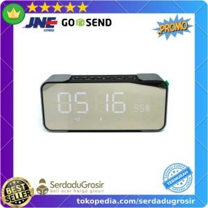 Harga jam weker alarm meja led dengan speaker bluetooth   pth 305   HARGALOKA.COM