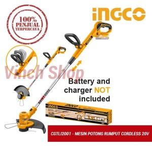 Harga mesin potong babat pemotong rumput daun taman cordless listrik | HARGALOKA.COM