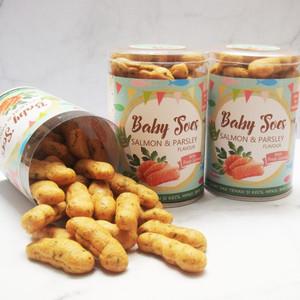 Harga cemilan sehat snack   sus bayi rasa salmon amp parsley by nyonya | HARGALOKA.COM