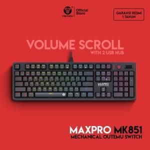 Harga keyboard gaming fantech mk851rgb max pro   blue   HARGALOKA.COM