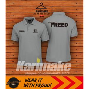 Harga polo shirt kaos polo honda freed kaos otomotif   | HARGALOKA.COM