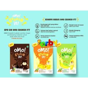 Harga omo crunch it snack bayi   | HARGALOKA.COM