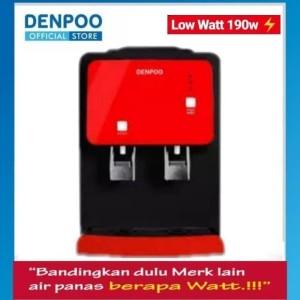 Harga dispenser denpoo winter hot amp cold low watt 190 black frame | HARGALOKA.COM