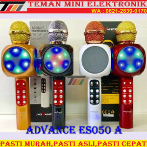 Harga mic speaker advance es050 a bluetooth karaoke microphone usb | HARGALOKA.COM