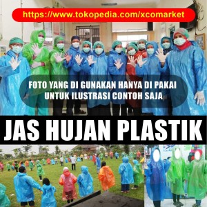 Harga jas hujan plastik   ponco   HARGALOKA.COM