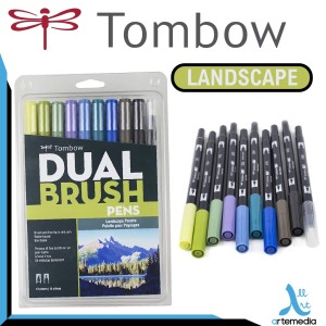 Harga Tombow Dual Brush Pen Art Markers Katalog.or.id