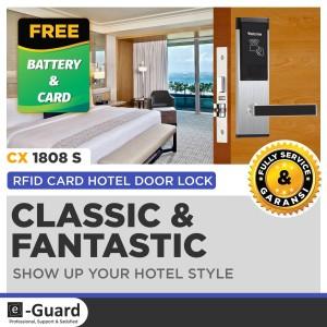 Harga e guard kunci pintu hotel digital door lock kamar kosan | HARGALOKA.COM