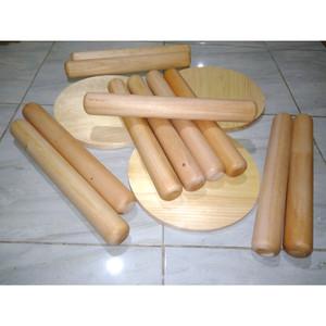 Harga 20 cm tebal rolling pin mini penggilas adonan kayu ukuran model | HARGALOKA.COM