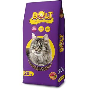 Harga makanan kucing bolt 20kg cat food kargo jne jnt sicepat anteraja | HARGALOKA.COM