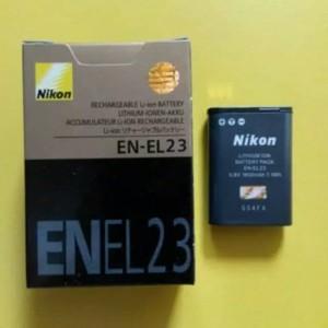 Harga baterai nikon en el23 for coolpix p900 p610 s810c p600 battrey | HARGALOKA.COM