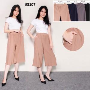 Harga red one celana kulot pendek prisket 3d stretch fashion wanita 3107   | HARGALOKA.COM