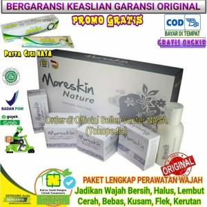Harga moreskin nature paket terhemat kecantikan pencerah kulit | HARGALOKA.COM