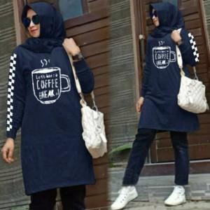 Harga baju muslim wanita coffee bahan matt baby | HARGALOKA.COM