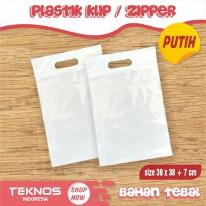 Harga plastik ziplock klip 30x38 7 cm packing baju olshop online | HARGALOKA.COM