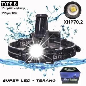 Harga senter kepala headlamp led terang murah berkualitas   HARGALOKA.COM
