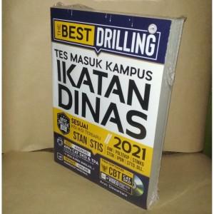 Harga buku the best drilling tes masuk kampus ikatan dinas 2021 | HARGALOKA.COM