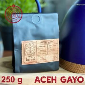 Harga biji kopi arabika aceh gayo bener meriah semi washed 250g   roasted   whole   HARGALOKA.COM