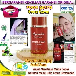 Harga moreskin anti aging facial foam   pembersih wajah   bebas | HARGALOKA.COM