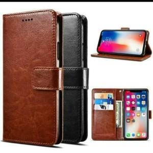 Harga oppo f9 flip cover case kulit higt leather | HARGALOKA.COM
