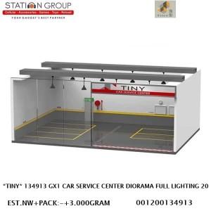 Harga tiny 134913 gx1 car service center diorama full lighting system 1 43   HARGALOKA.COM