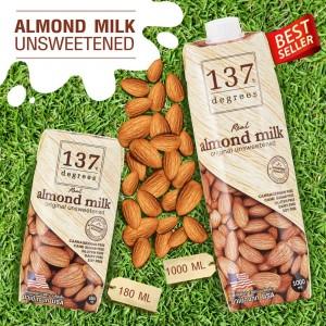 Harga 137 degrees almond milk unsweetened | HARGALOKA.COM