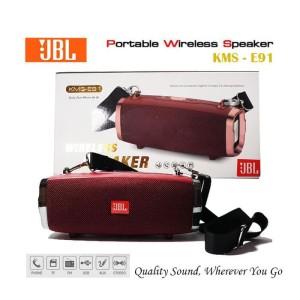 Harga termurah speaker bluetooth portable jbl kms  e91   high quality | HARGALOKA.COM