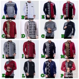 Harga batik kemeja pria baju batik murah bagus hem batik koko batik   | HARGALOKA.COM