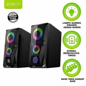 Harga speaker aktif robot rs200 stereo gaming 3 | HARGALOKA.COM