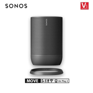 Harga sonos move speaker for sound anywhere bluetooth and wifi   | HARGALOKA.COM