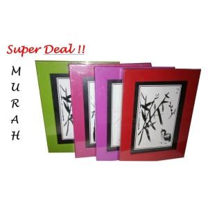 Harga pigura bingkai frame foto kotak warna uk | HARGALOKA.COM