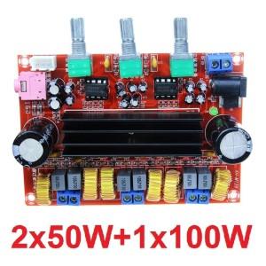 Harga kit power amplifier class d tpa3116d2 2 1 2x50w 100w tpa3116 d2   HARGALOKA.COM