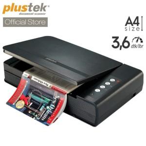 Harga scanner plustek opticbook 4800   3 6 detik lembar a4 letter | HARGALOKA.COM