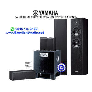 Harga paket yamaha nsf51 ns f51 ns p51 yst sw315 home theatre speaker | HARGALOKA.COM