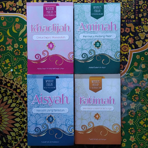 Harga paket buku wanita mulia di sisi rasulullah   4 buku | HARGALOKA.COM