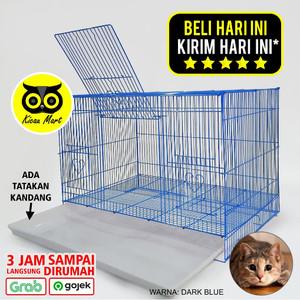 Harga kandang kucing sangkar kucing besi import size jumbo besar large pet   HARGALOKA.COM