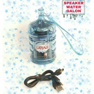 Harga sale speaker unik mp3 water galon led music mini box speker aktif   biru | HARGALOKA.COM
