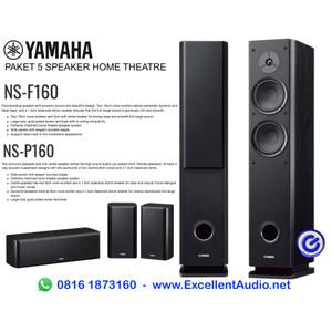 Harga paket yamaha nsf160 ns f160 nsp160 ns p160 home theatre speaker | HARGALOKA.COM