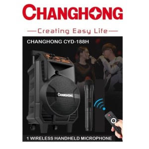 Harga changhong cyd 188h portable wireless sound system pa amplifier mic | HARGALOKA.COM